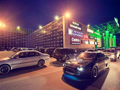Подсветка здания ТРЦ «CAPITAL MALL»
