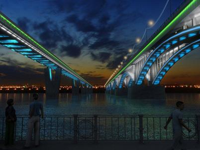 Концепция архитектурного освещения города Новосибирска