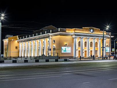 Архитектурная подсветка концертного зала им. С.С. Прокофьева